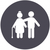Healthcare Network Senior Care Icon